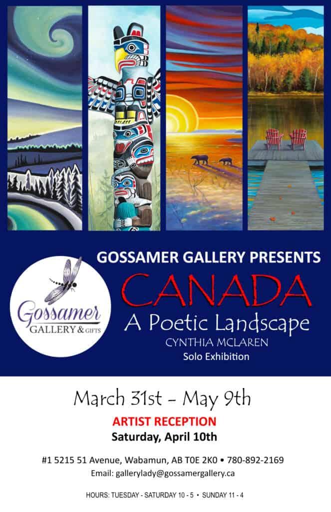 Poster Gossamer Gallery